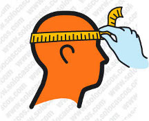 Escoger la talla correcta del casco